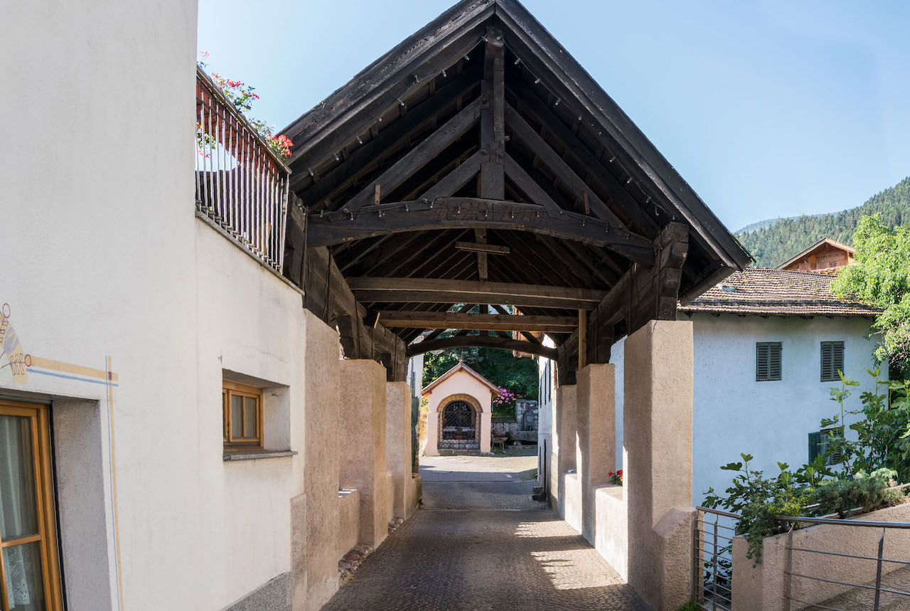 Dorf Prissian Brücke
