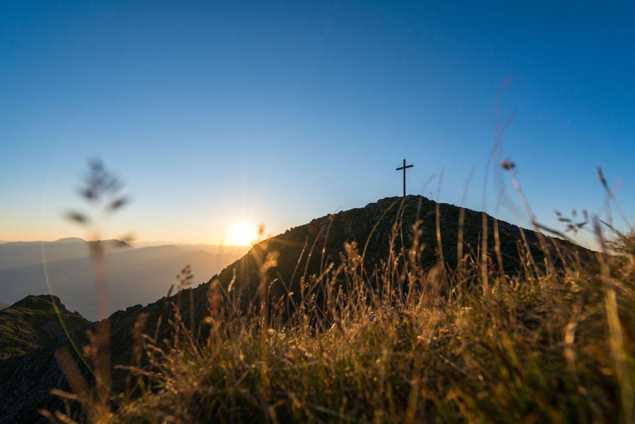 Gipfelkreuz Laugen