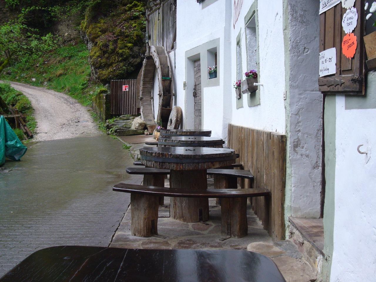 Obertalmühle Eingang