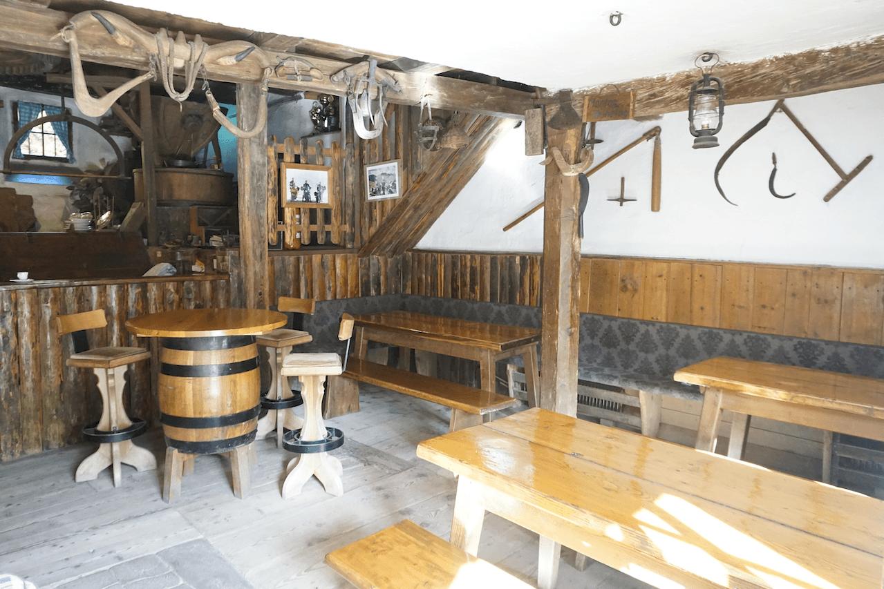 Obertalmühle Eingangsbereich